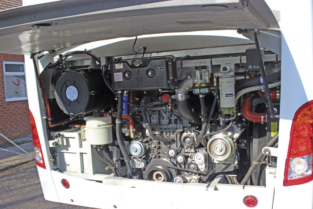 DAF MX11 power rather than Cummins unit of the Euro5 TC12